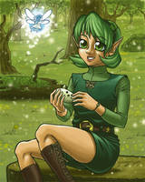 Saria's Song by spoonyliger