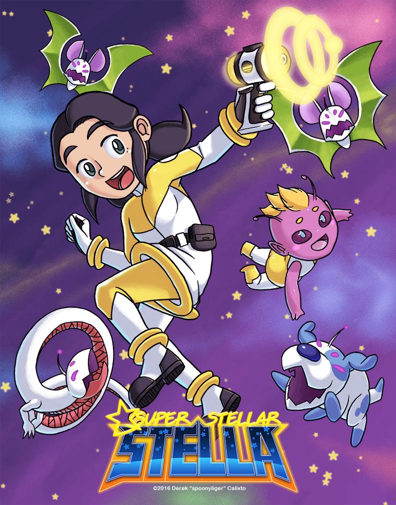 Super Stellar Stella by spoonyliger