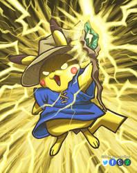 Black Mage Pikachu