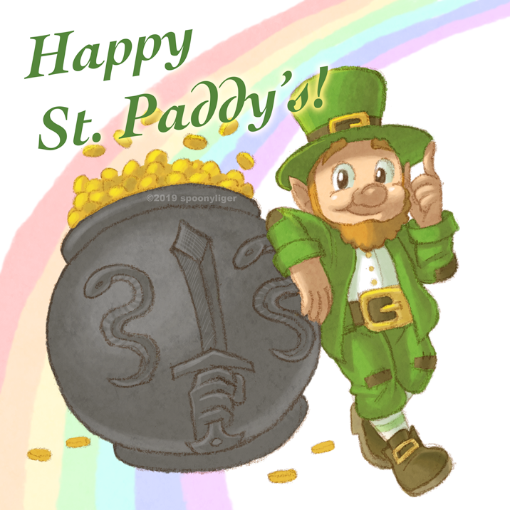 Happy St. Patricks Day! by spoonyliger