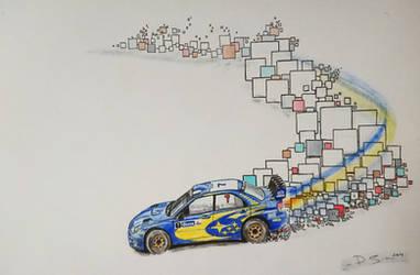 Subaru Impreza WRC2006 by Solidmetal93