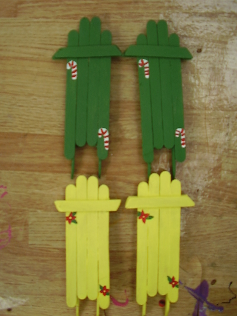 christmas tree sled ornaments by skittles