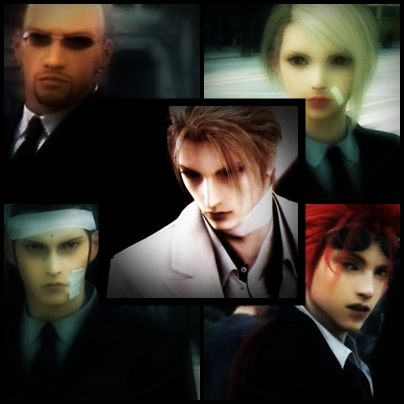 Rufus Shinra Turks Complete by seynagoodwitch