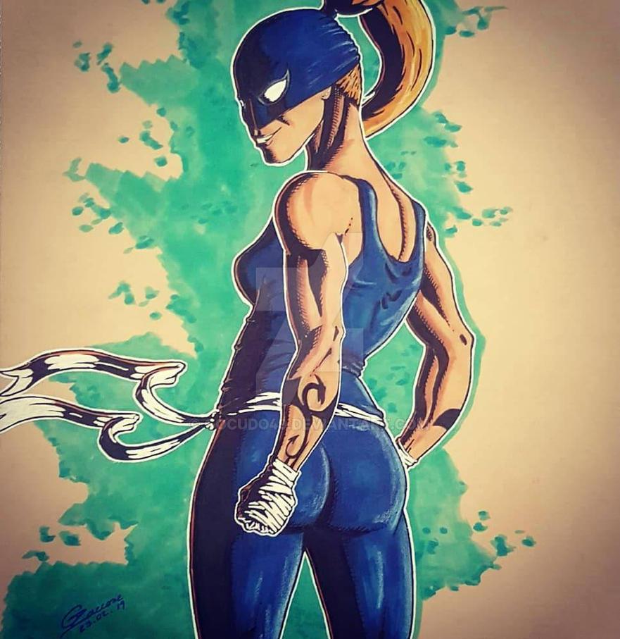 female ironfist by gocudo49