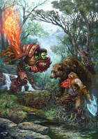 battle by metalratrox
