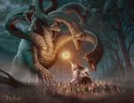 Hydra vs mage