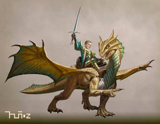 Eragon and Zelifarn