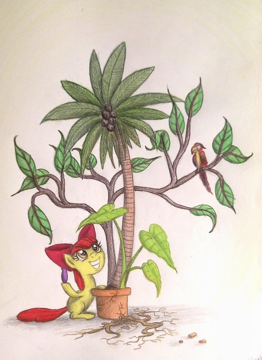 Positive Plant Potion Progress by TheFriendlyElephant
