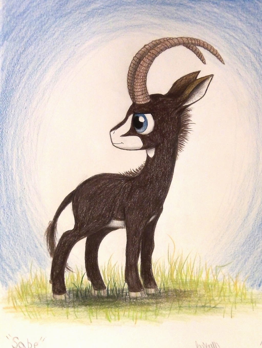 Sabe the Giant Sable Antelope by TheFriendlyElephant on ...