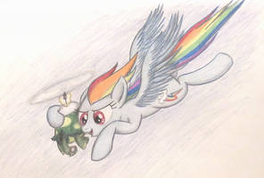 Bust the Clouds Up High by TheFriendlyElephant