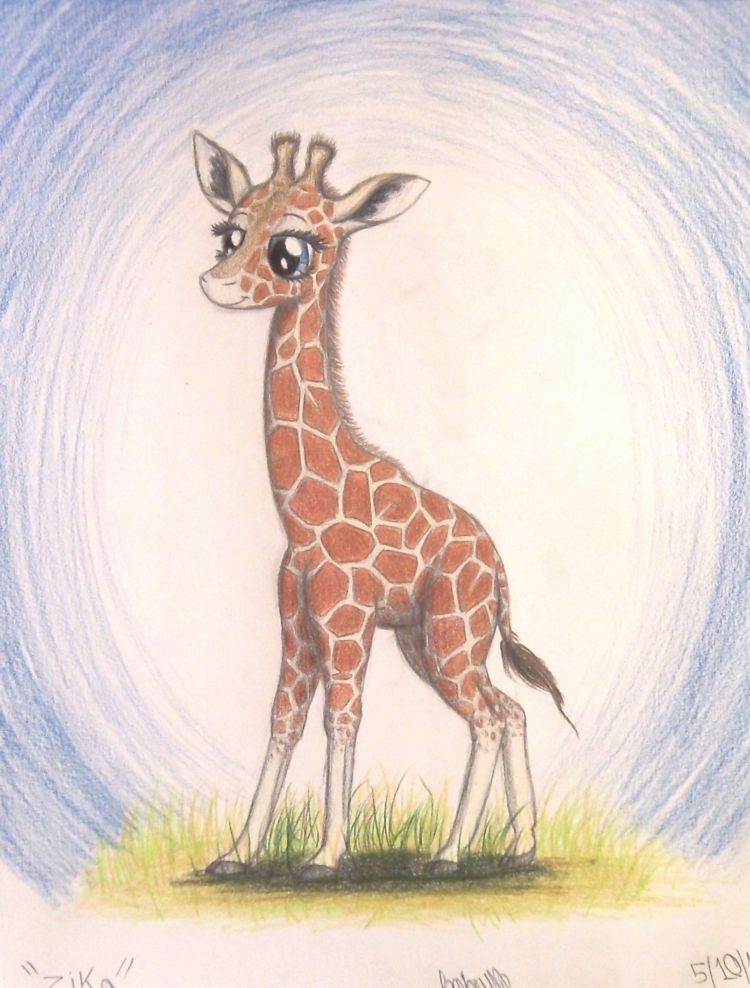 zeka the reticulated giraffe by thefriendlyelephant on deviantart
