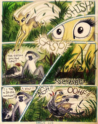 Sable Story - Page 116 - Monkey Sandwich by TheFriendlyElephant