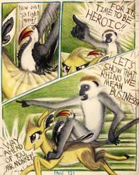 Sable Story - Page 127 - Monkey Motivator by TheFriendlyElephant