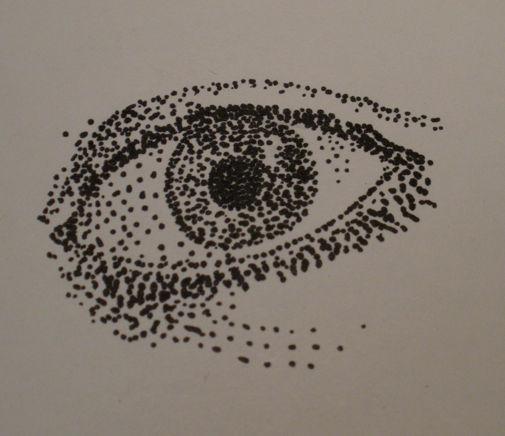 Pointillism Eye