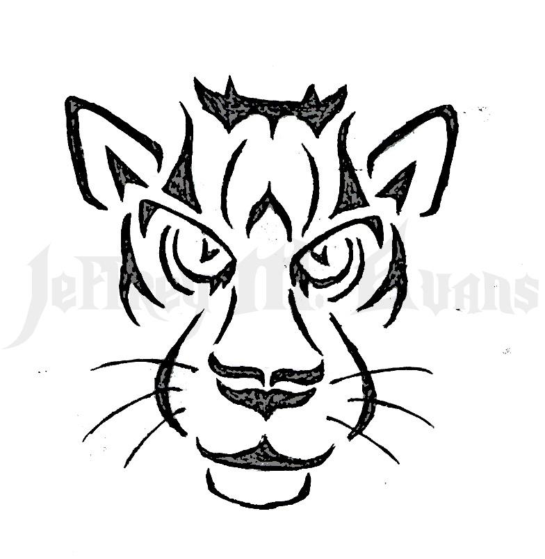 Tribal Tiger By Ruttan On Deviantart: Tiger Tribal Tattoo By Icedragon529 On DeviantArt