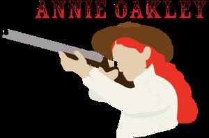 Annie Oakley Minimal by Icedragon529
