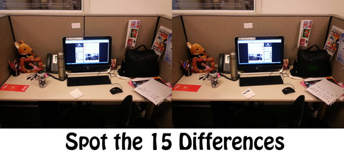 15 Differences 2/22/14