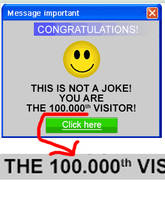 100.000th Visitor