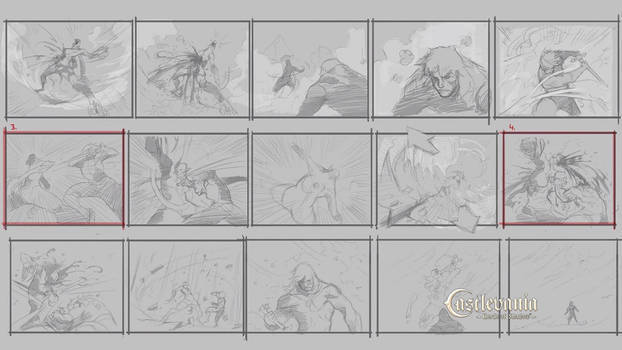 ARTE - Capitulo VIII - Storyboard escena final