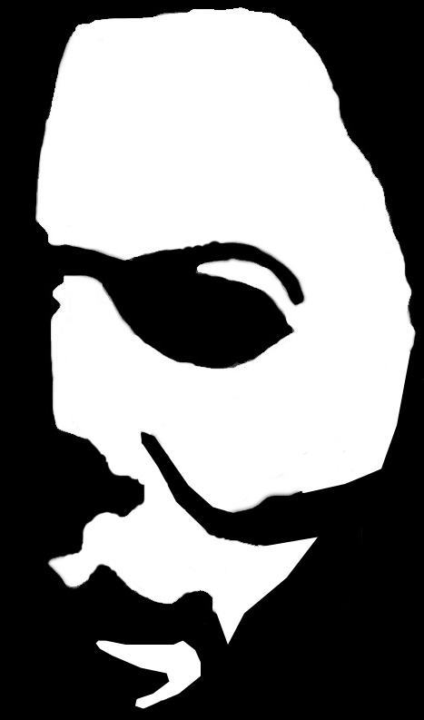 Michael myers stencil by sgtfubar on deviantart