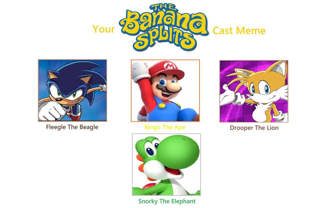 My Banana Splits Cast Meme By Lunamoon9000 On Deviantart