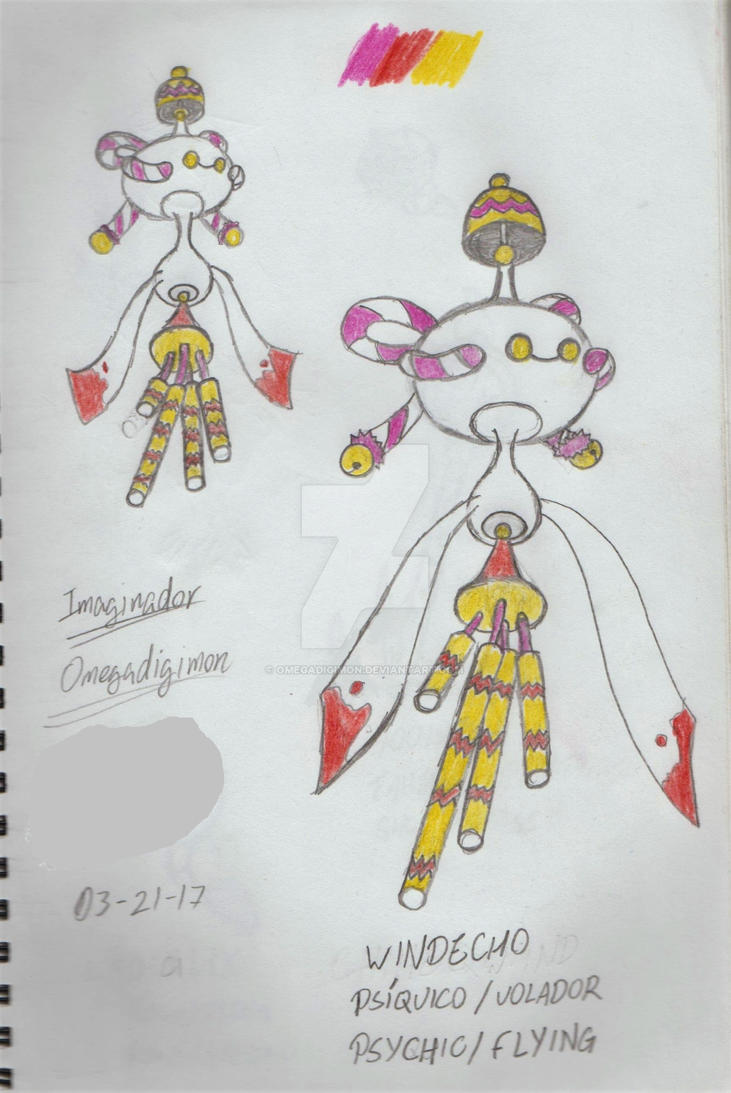 Windeco (chimecho evolution) by omegadigimon