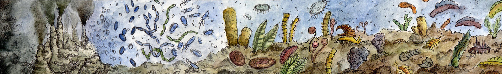 History of Life - Origin to Early Cambrian by SuperGiantBird