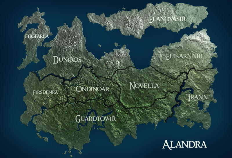 Alandra Map by StarvingScientist