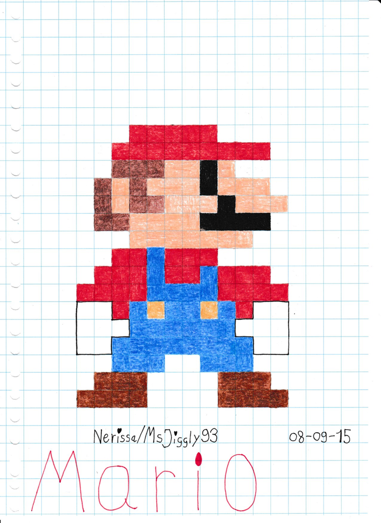 Mario 8 bit by msjiggly93 on deviantart - Pictures of 8 bit mario ...