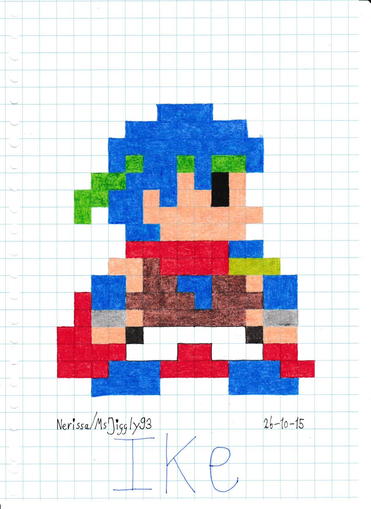 Squishy Duck Super Mario Maker 4 : Ike (8-Bit) by MsJiggly93 on DeviantArt
