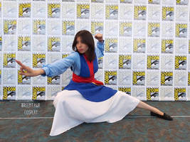 Mulan, during SDCC by bity16