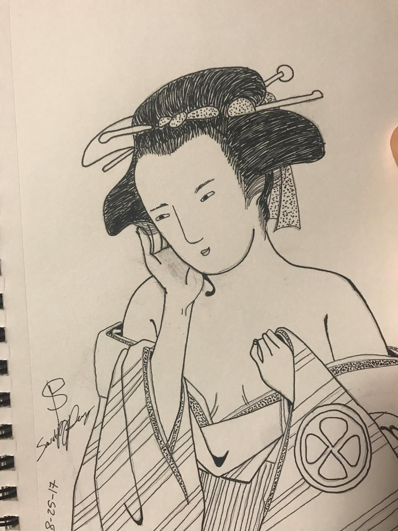 Ukiyo-e by deidara-chan88