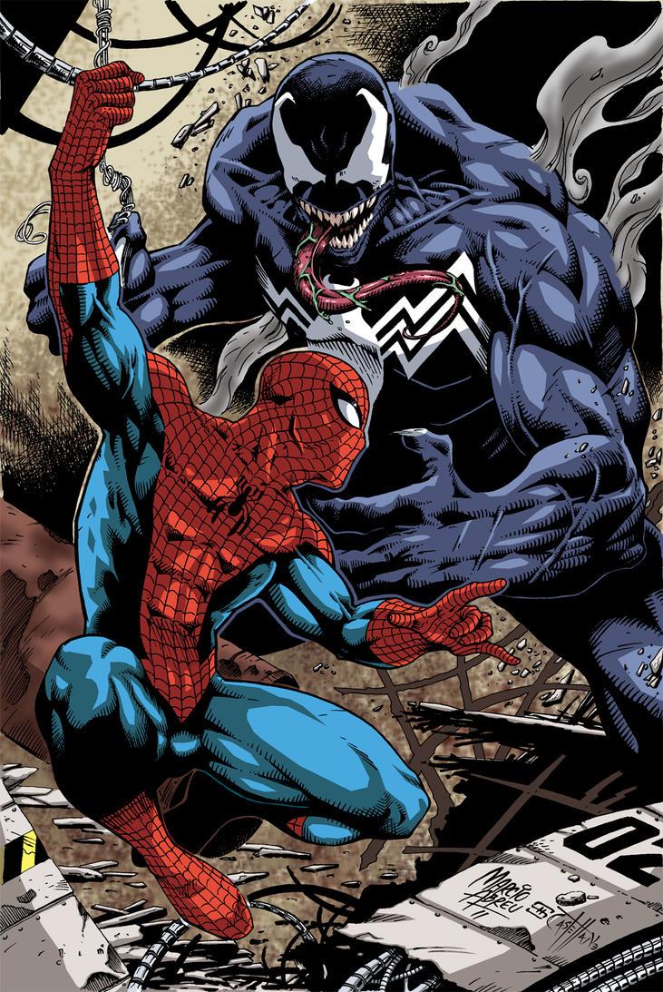 Spiderman vs Venom Their Fights in Comics amp Movies  Geeks