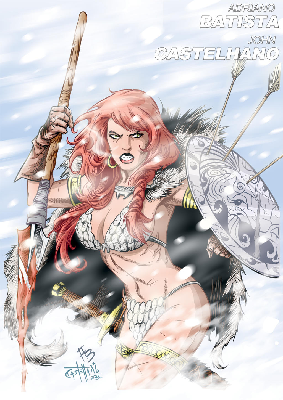 Red Sonja issue 34 by johncastelhano