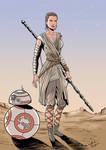Rey - Star Wars The Force Awakens