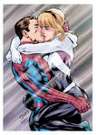 Peter and Spider Gwen (color)