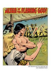 Tarzan #03, Aug 1977 (color) by johncastelhano