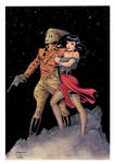 Cliff and Betty (The Rocketeer) - color