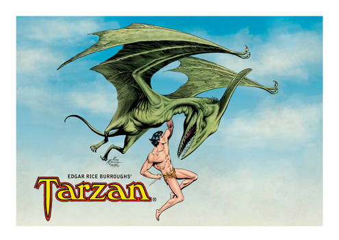 Tarzan vs The Mahar, c1977 (color)