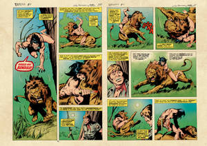 Tarzan #1, Jun 1977  (color)