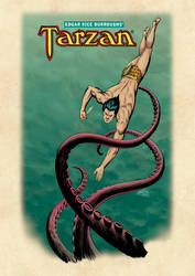Tarzan and the Octopus c1970s (color)
