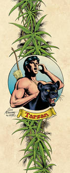 Tarzan Border Illustration, 1977 (color)