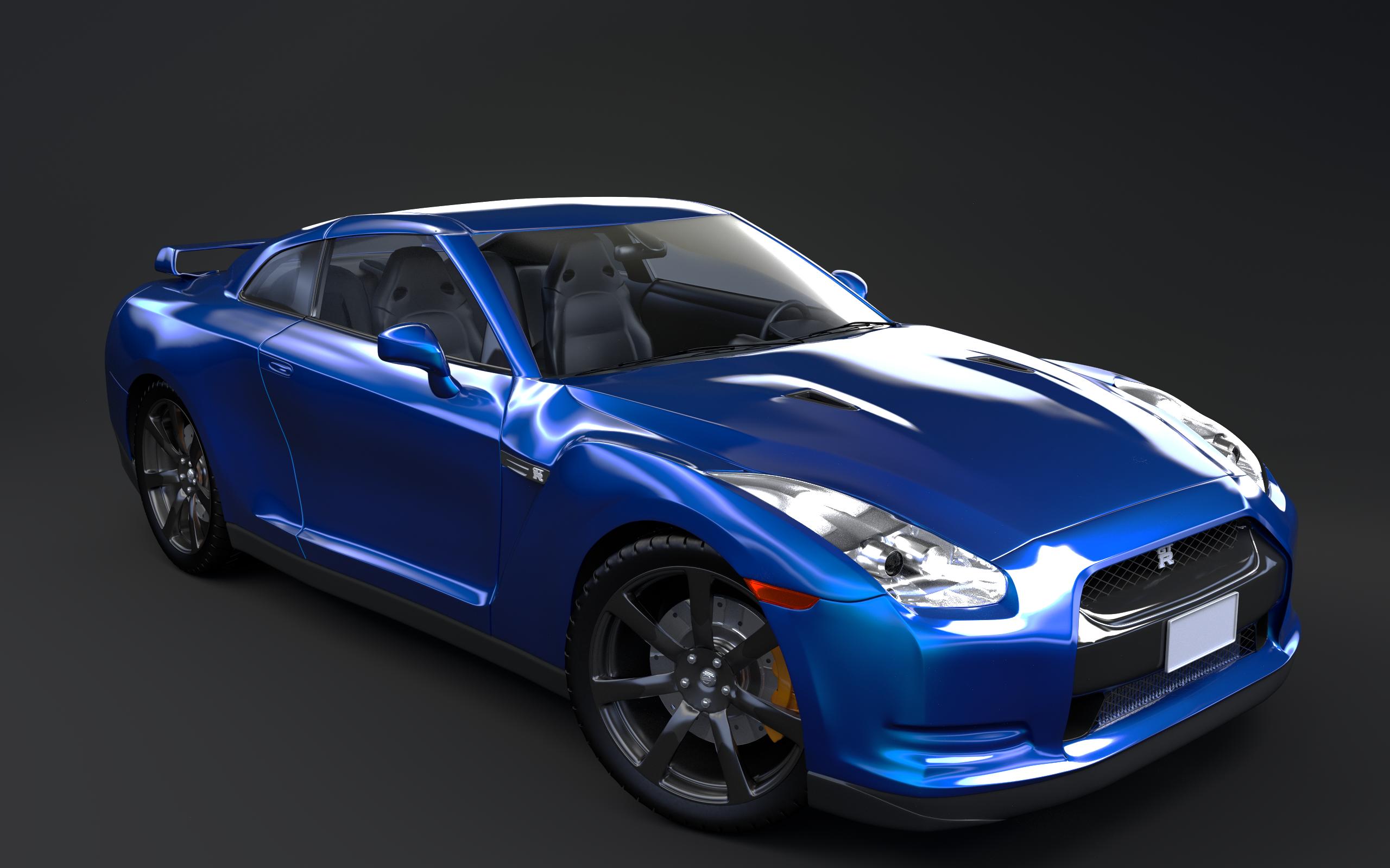 Nissan Gtr Blue By Olotocolo On Deviantart