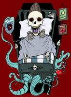 Poisoned by MUSHROOM by HorrorRudey