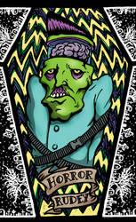 horror insane zombie rudey by HorrorRudey