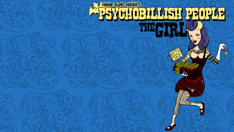 Psychobillish people 3 by HorrorRudey