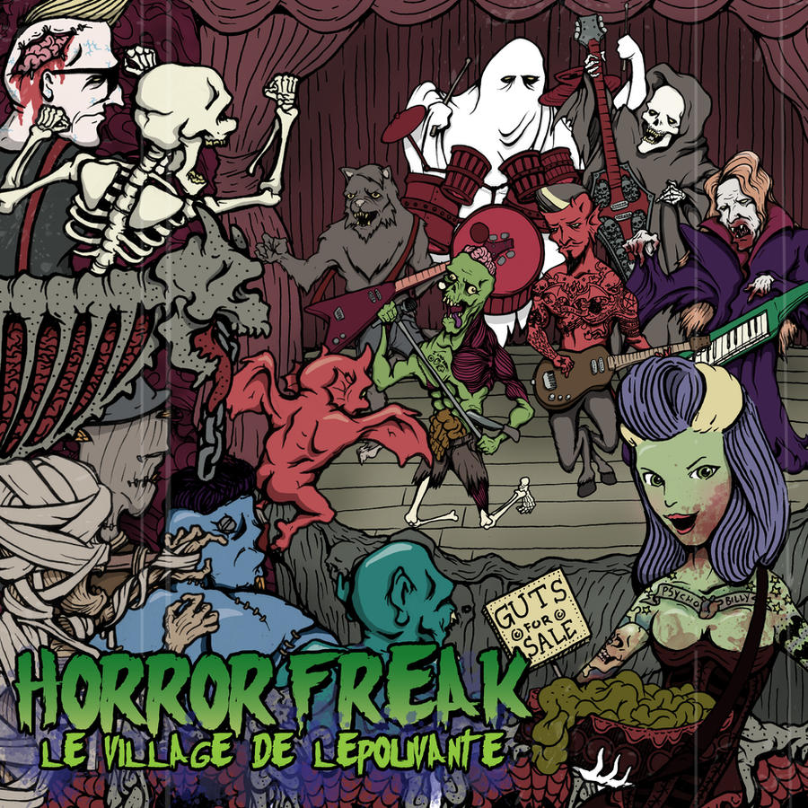 Horror Freak Album 2 by HorrorRudey