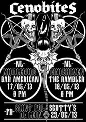 Cenobites 2013 tour by HorrorRudey