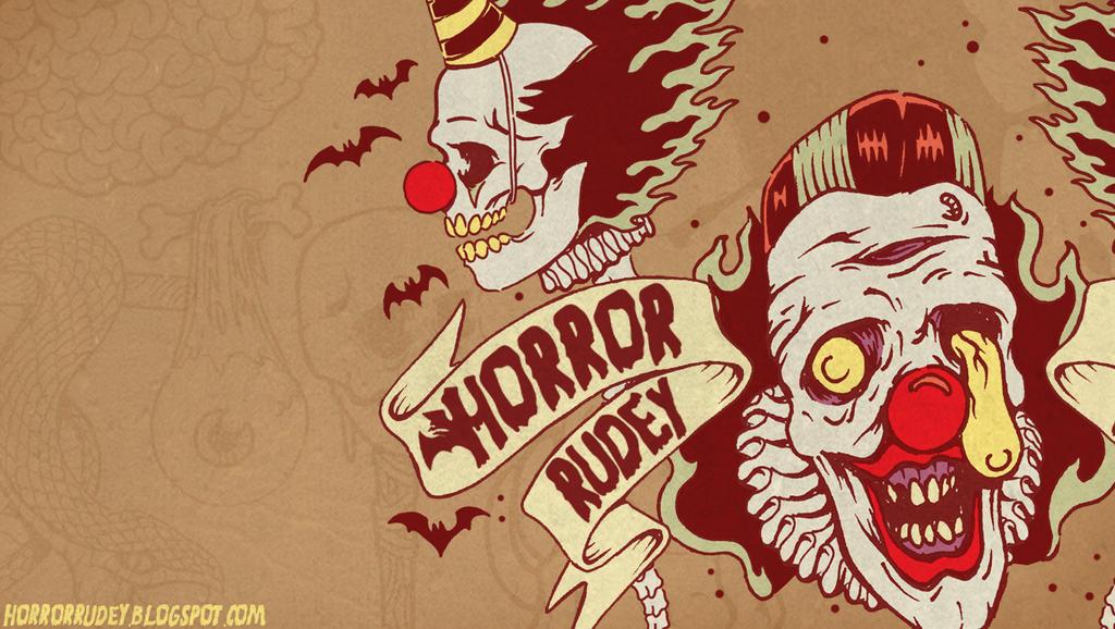 Killer Zombie Clown Wallpaper Free Download By HorrorRudey