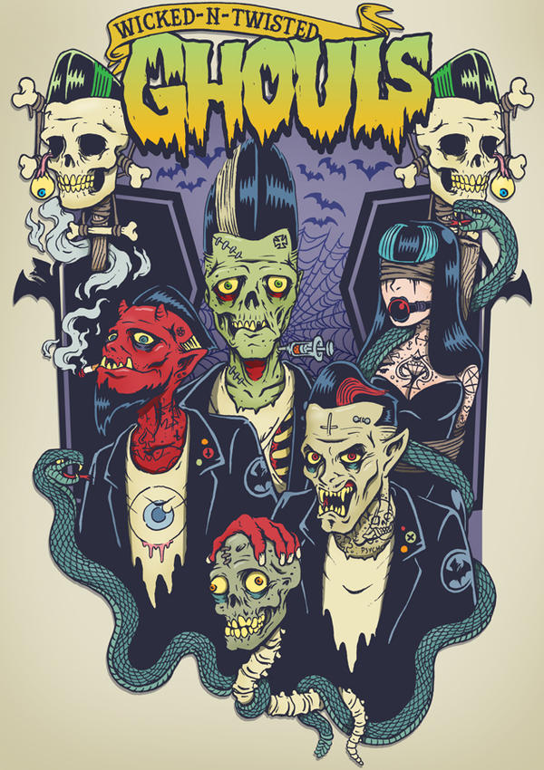 Wicked n Twisted Ghouls